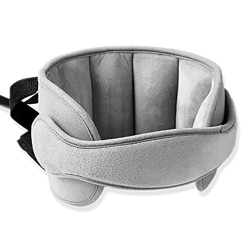 ZoneYan Kopfgurt Kindersitz, Einstellbar Kopfstützband, Autositz Nackenstütze Kinder, Kindersitz Kopfstütze, Kopfhalterung Kindersitz Baby, Kopfschutz Schlafen