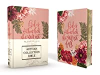 NIV Journal The Word Bible: New International Version, Artisan Collection Bible, Pink Floral, Designed Edges Under Gilding, Red Letter Edition, Comfort Print