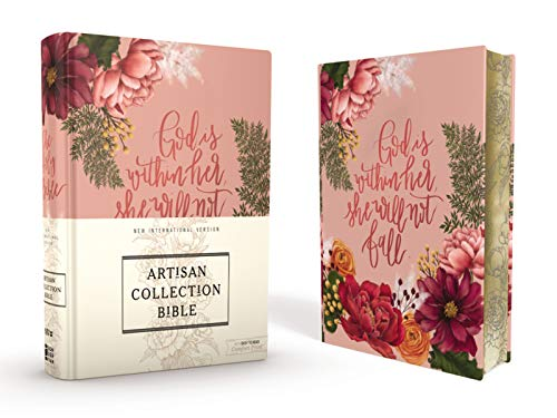 Compare Textbook Prices for NIV, Artisan Collection Bible, Cloth over Board, Pink Floral, Designed Edges under Gilding, Red Letter, Comfort Print  ISBN 9780310453338 by Zondervan