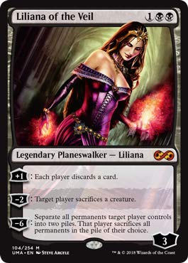 Magic: The Gathering - Liliana of The Veil - Ultimate Masters - Mythic