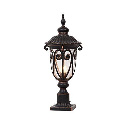 Eclairage pour terrasse et Patio Lampe de Pilier extérieure étanche Jardin lumières Paysage Lampes Mur Lampe Jardin Villa Applique Murale lumière SGS Certification A++