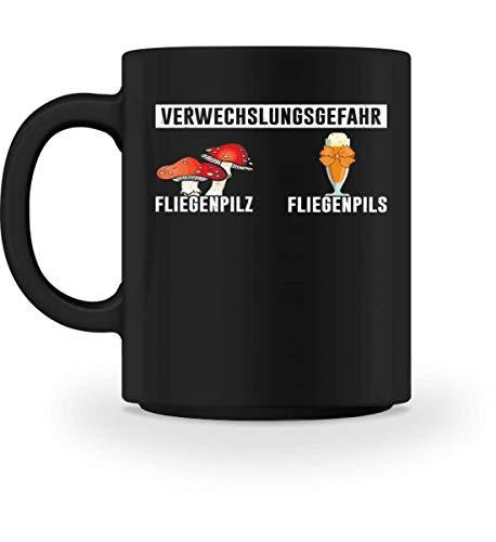 Chorchester Verwechslungsgefahr Bier Fliegenpilz - Tasse