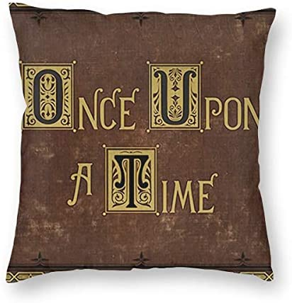 Gyaiaer Once Upon A Time Throw Pillow Case Square Pillow Cover Pillowcase Protectors for Sofa product image