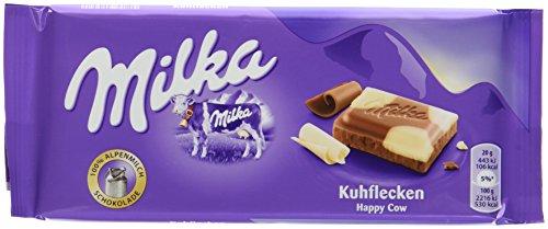 Milka Schokolade Kuhflecken, 21er Pack (21 x 100 g)