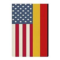 庭の旗 アメリカとドイツの旗 両面バナー バナー旗 屋外庭の装飾 吊り下げ式 アウトドア旗 キャンプフラッグ パーティー飾り 水洗い可能 耐久性 記念日 クリスマス 簡単に取り付け ハロウィンの装飾 文化祭 47*32cm