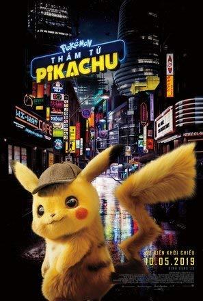 Póster de Pokémon Detective Pikachu 15x23' (38 x 58 cm) (380 x 580 mm)
