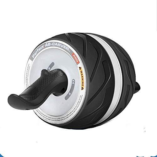 YYhkeby NO Logo Ab Bauch Roller Rad Bauchtrainer Rad-Rolle Bauchmuskeln Giant Wheel Startseite Bauch Bauch Übung Zugstufe Setsilent Jialele (Color