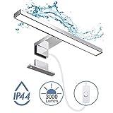 Apliques Espejo Baño LED Impermeable IP44, Hommie 30cm...