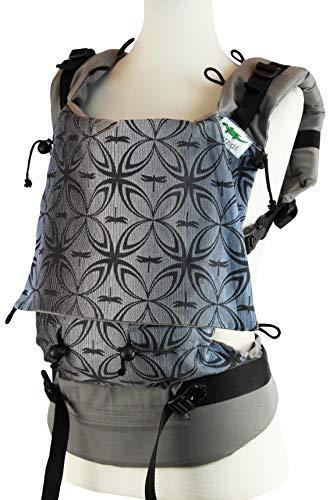 Buzzidil Shades of Blue - Mochila portabebés para bebés de 3 a 36 meses, con cierre sin atar (estándar)