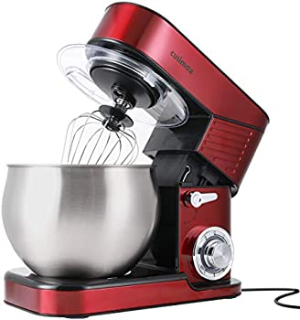 Cusimax 6.5QT Stainless Steel 6-Speed Dough Mixer