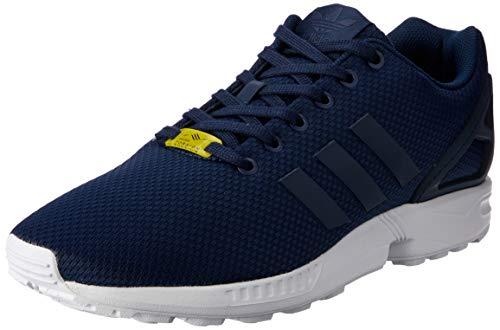 Adidas Zx Flux, Scarpe da Corsa Unisex Adulto, Blu (New Navy/New Navy/Running White), 36 2/3