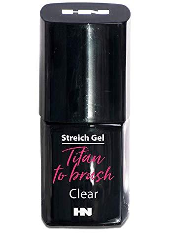 HN Hollywood nails Titan to Brush UV Gel zum Aufstreichen (transparent) 10gr
