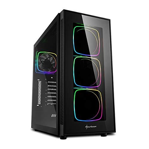 Sedatech PC Pro Gaming AMD Ryzen 7 3800X 8X 3.9Ghz, Geforce RTX 3070 8GB, 16GB DDR4 RAM, 500GB NVMe M.2 PCIe SSD, 3TB HDD, USB 3.1, WiFi, Bluetooth. Unidad central, gana 10