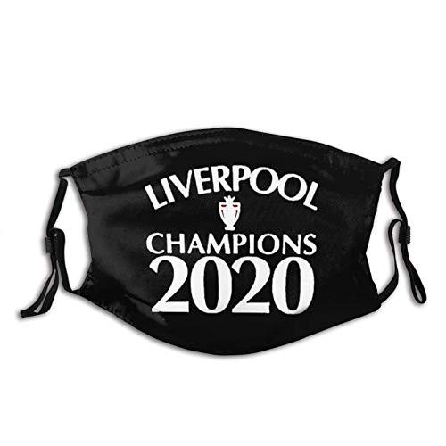 YRUI Liver-Pool Premi-Ership Champions 2020 Écharpe coupe-vent respirante pour la pêche, la randonnée, la course à pied, le cyclisme
