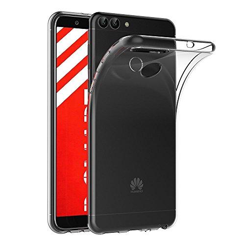 AICEK Huawei P Smart Hülle, Transparent Silikon Schutzhülle für Huawei P Smart Hülle Clear Durchsichtige TPU Bumper Huawei P Smart Handyhülle (5,65 Zoll)
