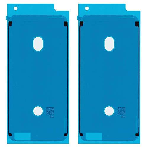 DICAS MOBILE 2 x Adhesivo para Pantalla Pegatina Cinta Adhesiva LCD para iPhone 6 6S 7 8 Plus X XS XR MAX Pegamento Doble Cara Chasis Marco Reemplazo (iPhone 6S, Blanco)