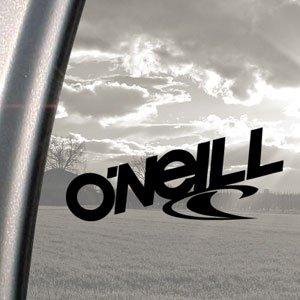 O 'Neill schwarz Aufkleber Skateboard Surf Snowboard Surfen Aufkleber