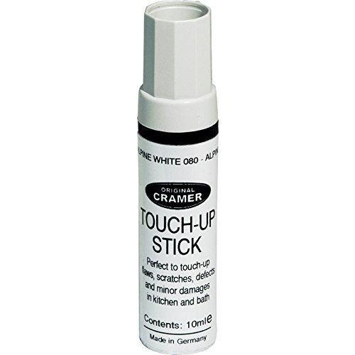 Cramer Touch Up Stick Colour: Alpine White Made in Germany, Instructions in English
