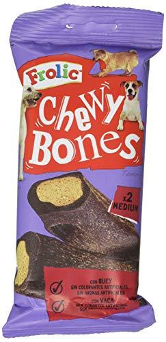 Frolic Chew Bones Huesos Masticables para Perros (Pack de 12 bolsitas x 170g)