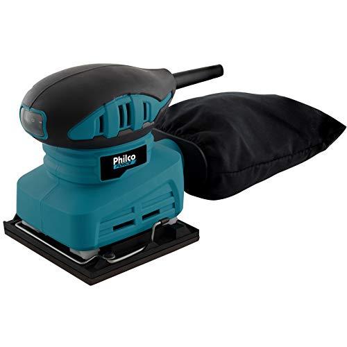 Lixadeira Plo01 220V, Philco, 220V 051102009, Azul/ Preto