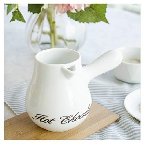 YIFEI2013-SHOP Jarra de Leche Clásico Blanco Porcelana Creamer, jarros pequeña Jarra de Leche Salsa Creamer, Jarabe de café Tarro de Servidor Jarras para Crema