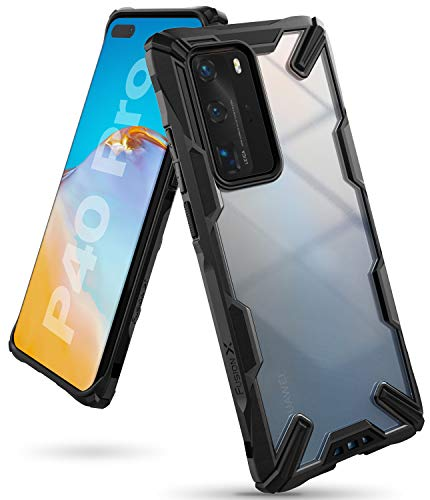 Ringke Fusion X Case Designed for Huawei P40 Pro - Black