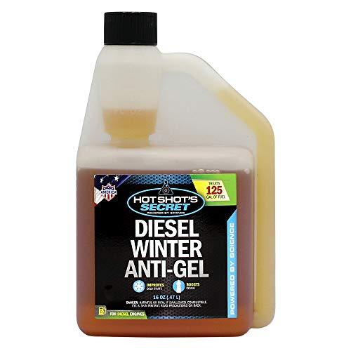 Hot Shot's Secret Diesel Winter Anti-Gel 16 Ounce Squeeze Bottle -P403316ZS