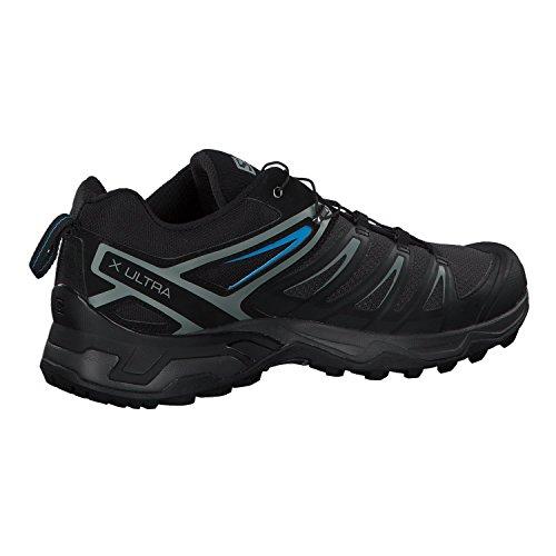 Salomon Men's X Ultra 3 Hiking Shoes, Phantom/Black/Hawaiian Surf, 10.5