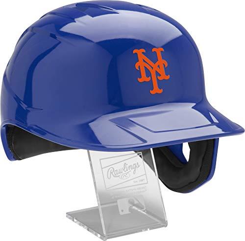 Rawlings Official MLB Mach Pro Replica Baseball Batting Helmet Series, New York Mets