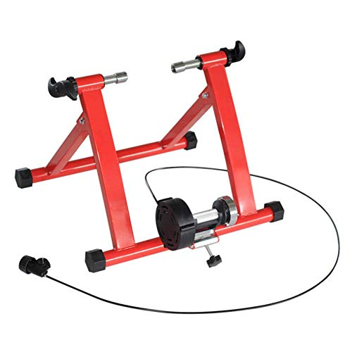 Bike Bicycle Smart Bike Resistance Trainers Indoor Exercise Bicycle Magnetic Stand for Wheel of 20'- 24'-28' Road & Mountain Bikes