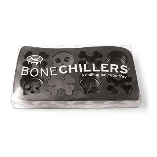 Genuine Fred BONE CHILLERS Skull and Crossbones Ice Tray