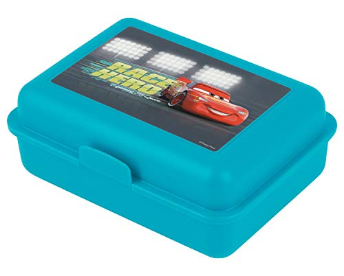 Baagl Brotdose Kinder für Schule – Lunchbox für Mädchen, Jungen, Kindergarten – Jausenbox, Brotzeitbox, Brotbox, Snackbox (Cars)