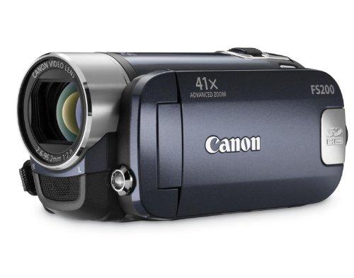Canon LEGRIA FS200 - Videocámara (CCD, 0,8 MP, 1/0,236 mm (1/6