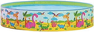 Best Sport- Piscina Hinchable Dino- 64570- 180 x 38 cm