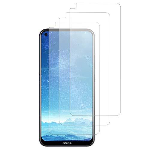 JundD Bildschirmschutz Kompatibel für Nokia 3.4 Schutzfolie, 3 Stücke Antireflektierend Nicht Ganze Deckung Matte Folie Bildschirmschutzfolie für Nokia 3.4