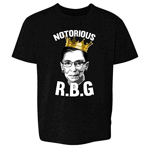 Pop Threads Notorious R.B.G. RBG Supreme Court Political Black 3T Toddler Kids Girl Boy T-Shirt