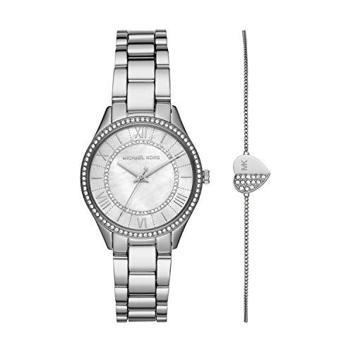 Michael Kors MK4509 Ladies Lauryn Watch and Bracelet Gift Set