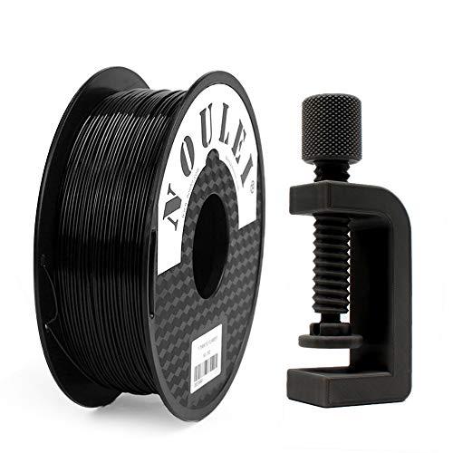 Shading PETG Noulei 3D Drucker Filament 1.75mm, Black, 1 kg Spool