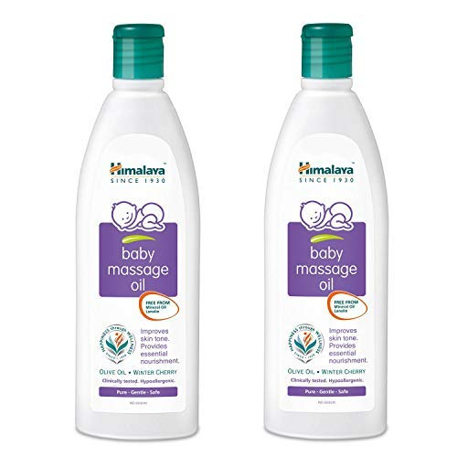 Himalaya Baby Massage Oil (200ml) (pack of 2)