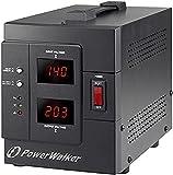 POWERWALKER AVR 2000/SIV Schuko 2000VA / 1600W Regulador de Voltaje automático