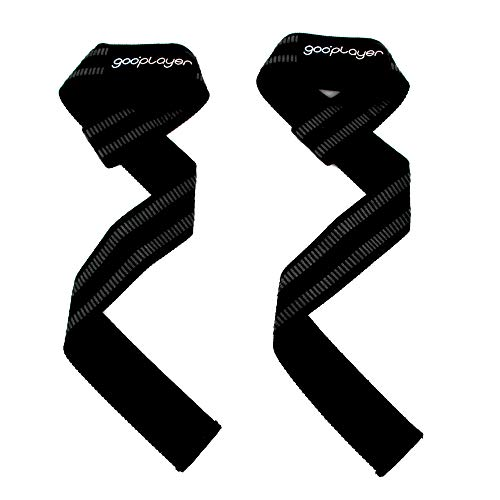 gooplayer Lifting Wrist Straps for Weightlifting, Strength Training, Deadlift straps, Powerlifting wrist wraps, Pull-ups wraps, Workout Equipment, Pair