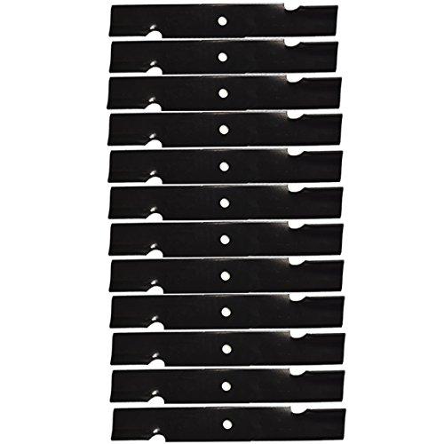 12PK Oregon 91-620 Lawn Mower Blades Compatible with Scag 32' 48110, 481706, 482877 A48110, 48' Tiger Cub Freedom Z