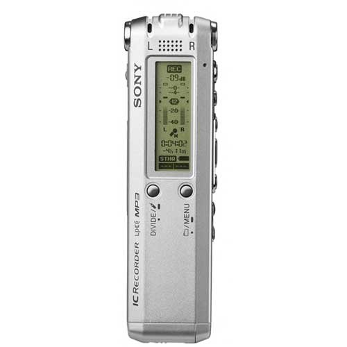 Sony ICDSX68DR9 Digital Voice Recorder with Dragon NaturallySpeaking RE Software