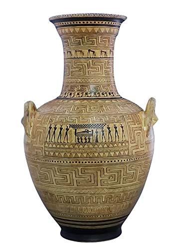Dipylon Amphora Geometrische Vase Antike Griechische Keramik Museum Athen