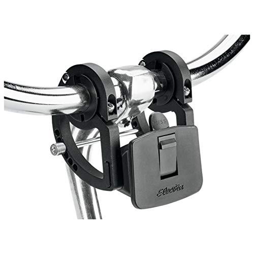 Electra Bicycle Electra Lenker Korbhalterung Quick Release Basket Bracket, Schwarz, 541408