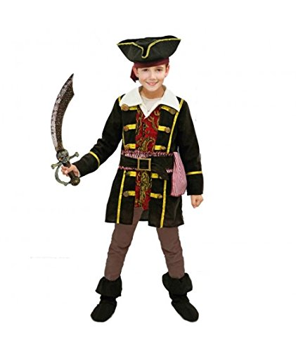 Disfraz Capitán Pirata niño Infantil para Carnaval (4-6 años ...
