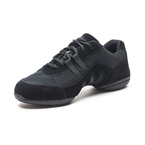 SANSHA Blitz 3 Dance Sneaker,Black,16 (14 M US Women's/11 M US Men's)