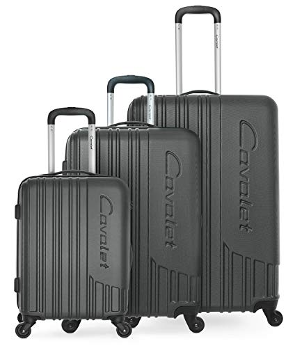 Cavalet Malibu Luggage Set, 73 cm, 247 liters, Grey (Graphite)