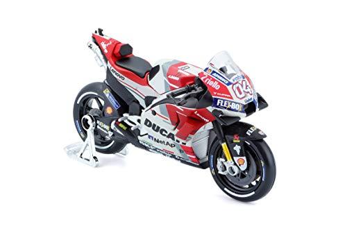 Maisto- 1:18 Moto Ducati Dovizioso 2018, 390664.012
