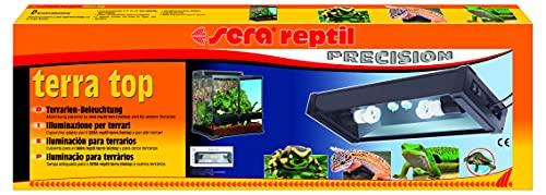 sera 32028 reptil terra top eine Terrarien Aufsatzleuchte mit Tag- und Nachtbeleuchtung - 2